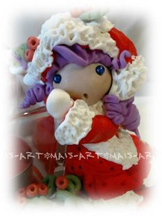 Portacandela/ https://it.pinterest.com/pin/783978247603765587/ doll in pasta di mais /Porcelana fria/ Das/ Bomboniere/Articoli regalo/Cold porcelain/Bamboline in pasta di mais/Polymer clay/Natale/Christmas/Pasta di mais/Oggetti fai da te/doll in pasta di mais/angeli