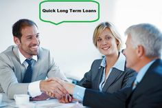 Quick long term loans will covalently wonderful financial services for their every cash crisis. If you want quick financial solution within short span of time then this loans is best option. You can apply these loans with simple online application procedure and without extra hidden charge.