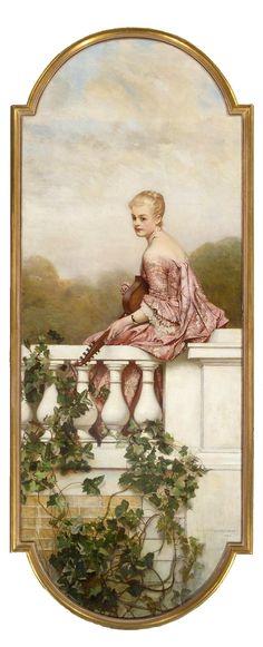 by Eduard Charlemont. (Austrian 1848–1906)