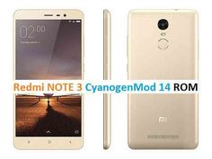 Install CM14 on Redmi Note 3 based on Android N