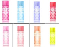 New Victoria's Secret PINK BODY MIST SPRAY SPLASH 8.4oz Full Size (You Choose!) #VictoriasSecret