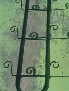 Wrought iron small plate holder for three small decorative & Handmade and painted wooden paper plate holder/ pink dogwood ...