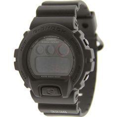 Casio G-Shock 6900 Watch - Black Military Series (black) DW6900MS-1CU - $109.99