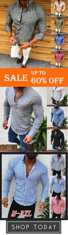 Men Casual Long Sleeve Turn-down Collar Button Embroidery Western Shirt LM 01