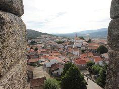 Vista do castelo de Belmonte (Beira / Portugal)