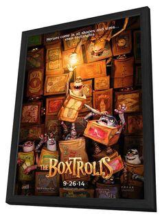 The Boxtrolls 27x40 Framed Movie Poster (2014)