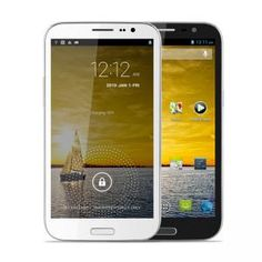 HAIPAI-N7889 1.2GHz Quad-core Android 4.2 6.0 Inch HD IPS Smartphone with Dual SIM, UMTS/3G