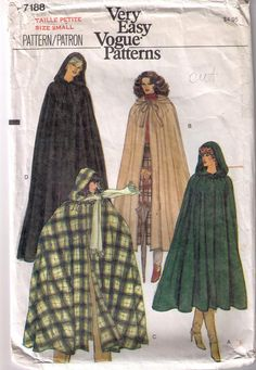 Vogue 7188 80s Sewing Pattern Size Small Women's by FancySew
