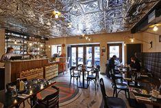 Burger Kitchen Restaurant in Warsaw by 77 Creative