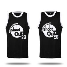 """Iverson Man Basketball Jerseys """"Space Jam"""" SHOOT OUT #96 #23 Men Basketball Shirt Sport Vest Embroidery Jersey Basketball Shirt. Yesterday's price: US $14.71 (12.16 EUR). Today's price: US $14.71 (12.12 EUR). Discount: 54%."""