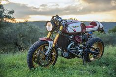 Retro modern mash up is always a good mix and gorgeous Honda is a perfect example.