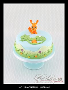 Moshi Monsters Katsuma Cake, via Flickr.