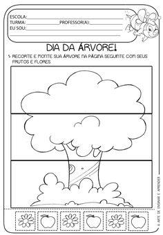 A Arte de Ensinar e Aprender: Atividade pronta - Dia da Árvore