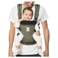 ab1fa5eaf2d Ergobaby Omni 360 All Carry Positions Ergonomic Baby Carrier - Khaki Green