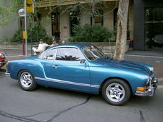 My dream car... yes it's a Volkwagen. Karmen Ghia to be exact.