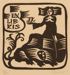 Augustinas Virgilijus Burba, Art-exlibris.net