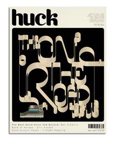 Huck Magazine on Behance