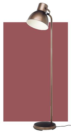 Pantone 2015 Color of The Year - The earthy wine color of Marsala pairs well with warm metallics, like the bronze tone of the HEKTAR floor lamp. Pantone 2015, At Home Furniture Store, Modern Home Furniture, Wooden Floor Lamps, Ikea Shopping, British Home, Color Of The Year, Marsala, House Design