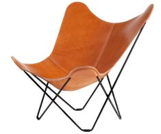 This is the Leather Butterfly Chair you have been looking for.