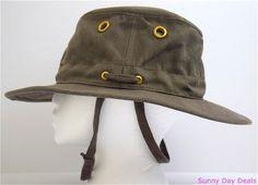 2b437c55dbc Tilley Hat TH5 Hemp Medium Brim Sun Protection Washable Mocha 7.5