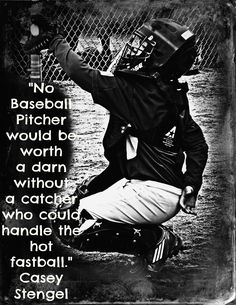 I love me some catchers!  My favorite players in baseball are catchers!