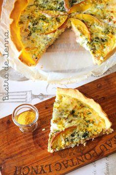 Tarte saumon-mangue à la crème de coco - Bistro de Jenna