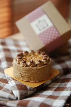 Sweets Miniature - Mocha Cake with box | by aya&ume