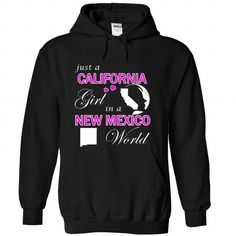 Just a California Girl in a New Mexico World (Pink) T-Shirts, Hoodies (39.99$ ==► Order Here!)