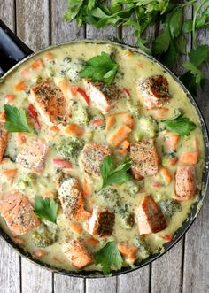 Healthy Meal Prep, Healthy Eating, Healthy Recipes, Healthy Foods, Seafood Recipes, Soup Recipes, Healthy Potatoes, Norwegian Food, Fish Dinner