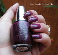 Esmalte OPI Extravagance DS 026 www.blogcasademaria.com.br