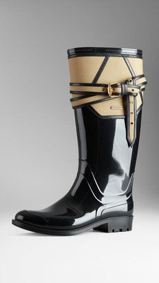 Burberry Belted Rain Boots