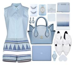 """""""Ocean Breeze"""" by sheavschaaf ❤ liked on Polyvore featuring Misericordia, Alexis Bittar, BCBGMAXAZRIA, Rebecca Minkoff, Emma Bridgewater, Dogeared and Ice-Watch"""