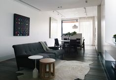 Mink Grey American Oak Floors by Royal Oak Floors. www.royaloakfloors.com.au Design: Kerry Phelan Design Office Photograph Derek Swalwell