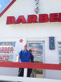 Captain Bills barber shop in Punta Gorda Florida.