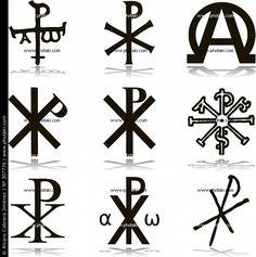 Crismón símbolos cristianismo