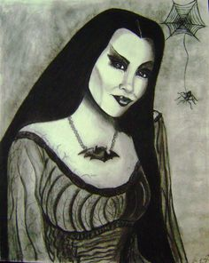 Lily Munster by ~PetuniaX82 on deviantART