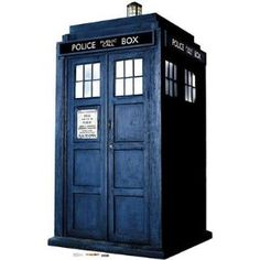 6ft tall TARDIS poster? I need to get this for a certain somebody's birthday.