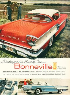 1958 Pontiac Bonneville - Alden Jewell