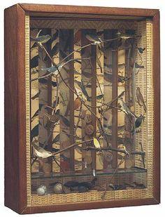 A Joseph Cornell box :) Shadow Box Kunst, Shadow Box Art, Joseph Cornell Boxes, Vanitas, Wal Art, To Infinity And Beyond, Assemblage Art, Art Plastique, Medium Art