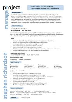 construction and project management specialist resume example