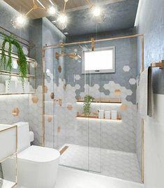 European Home Decor 75752 # Decoration 26 bathroom interiors to copy now interiors homedecor interiordesign homedecortips Bathroom Design Luxury, Modern Bathroom Design, Home Interior Design, Wc Decoration, Grey Wall Decor, Bathroom Inspiration, Cheap Home Decor, Bathrooms, 1920s Bathroom