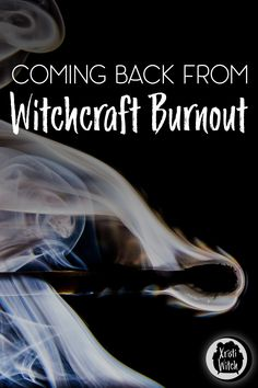 Burned the witch wick at both ends and got witchcraft burnout? Or maybe you just got too busy and stopped practicing? Witchcraft Books, Wiccan Spells, Magick, Pagan Witch, Wicca For Beginners, Witchcraft For Beginners, Witch Apps, The Witches Of Eastwick, Which Witch