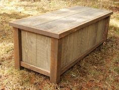 Rustic Reclaimed Mudroom Entry Bench by EchoPeakDesign on Etsy