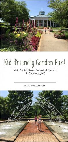 Plan a visit to the Daniel Stowe Botanical Gardens outside of Charlotte, NC. Love these great kid-friendly tips for exploring the garden!