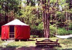 I love my yurt. You can stay here, too.