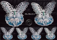CraftROBO/Cameo Template 3D Standing Butterfly