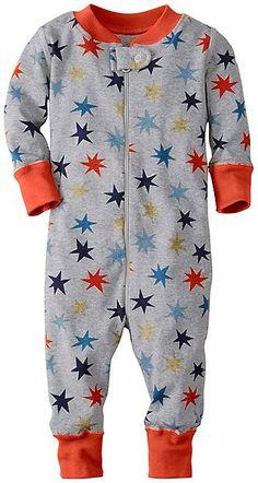Baby Night Night Baby Sleepers In Pure Organic Cotton | Baby Boy Sleepwear