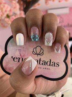 Cute Acrylic Nails, Fun Nails, Really Cute Nails, Luxury Nails, Neutral Nails, Beautiful Nail Designs, Nail Decorations, Cute Couples Goals, Perfect Nails