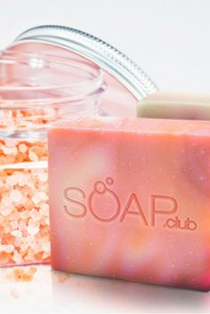 Escape to a tropical island idyll with the fresh scents of aloe, plumeria and the unmistakeable aroma of wild lavender. Grab our Tropical Escape gift set only at www.soap.club #SoapDotClub #handmadesoap