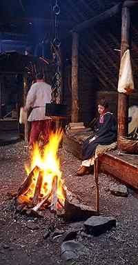 Great pictures of Viking longhouse